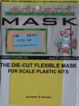 EDEX171 1/48 North-American P-51B Mustang mask (Accurate Miniatures)